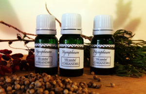 Cosmetice naturale nympheum ulei de coriandru
