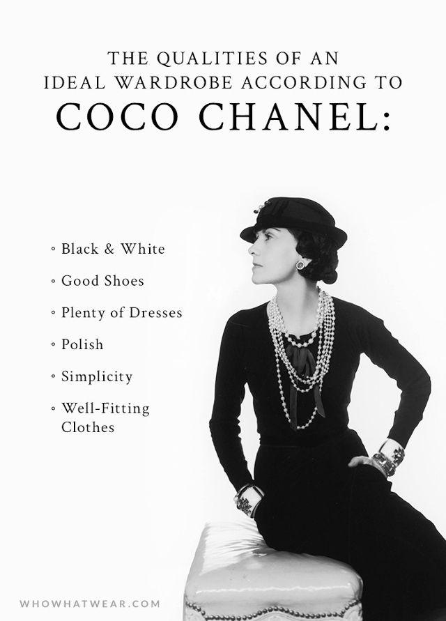Coco Chanel citat despre moda 1
