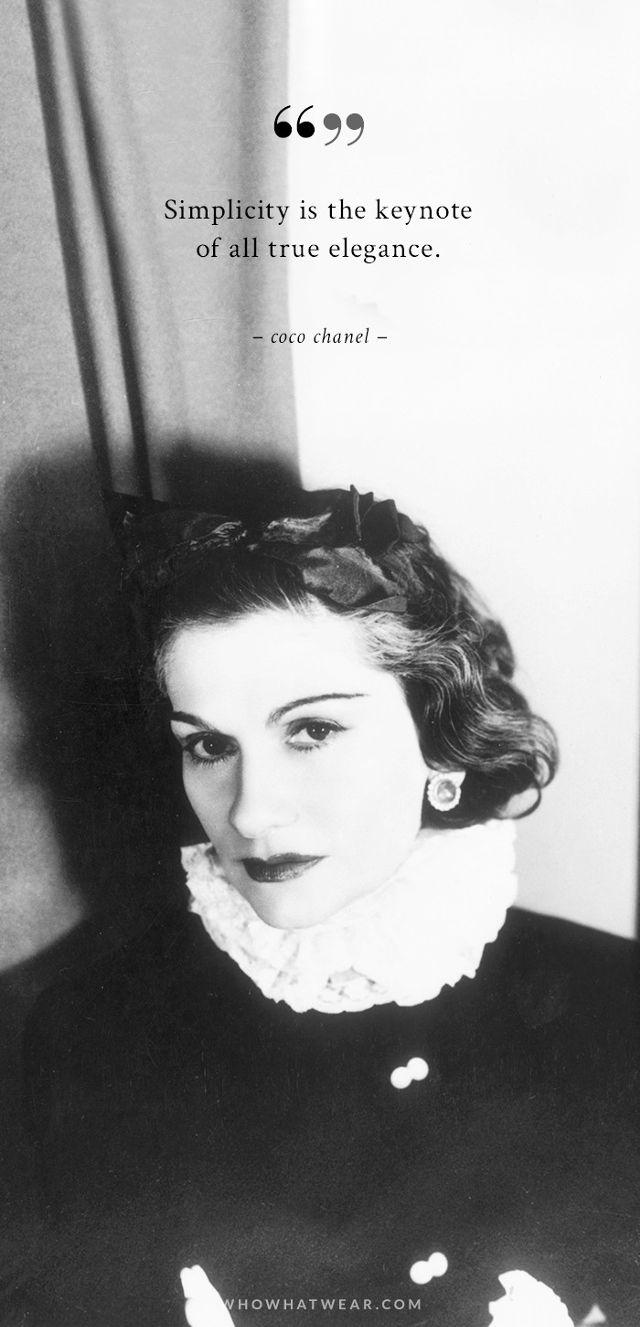 Coco Chanel citat despre moda 2