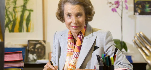liliane bettencourt l oreal