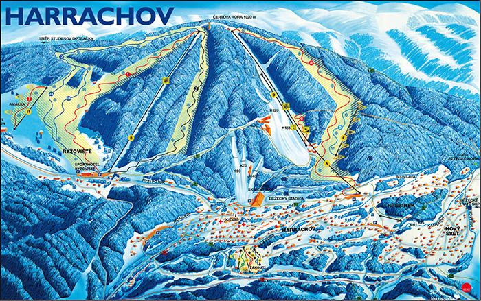 harrachov Cehia ski