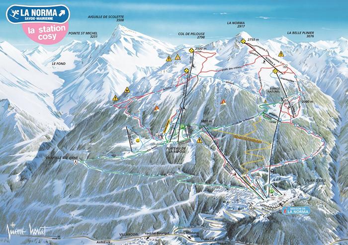 pista ski la norma franta