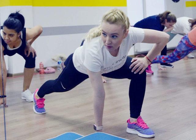 elena gurau, instructor pilates