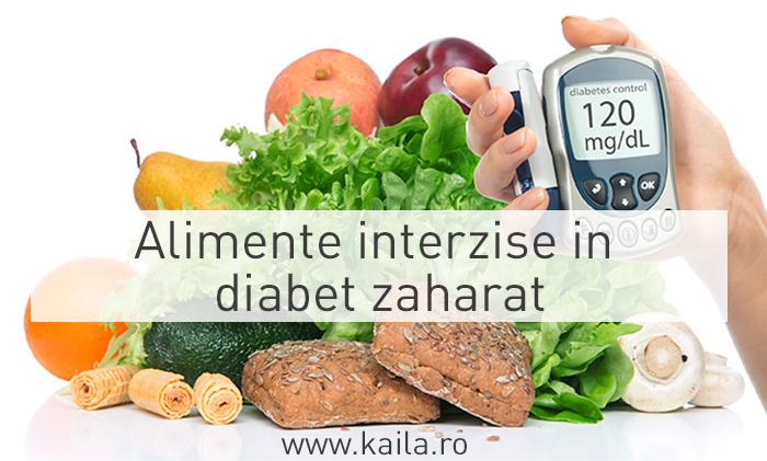 Dieta in cazul diabetului zaharat